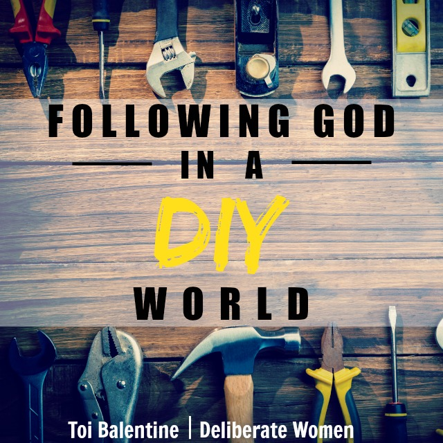 Deliberate Women: It's so easy to take the reins away from God when it seems easier. But following the Lord's plan is the best way.